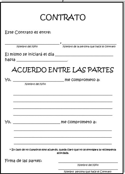 contrato d docentes primaria 2016 la clase de natalia contrato conductual para ni 209 s