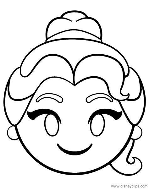 Galerry disney emoji coloring pages