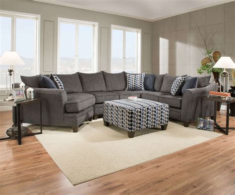 Living Room Furniture Couches by Albany Slate Sofa And Loveseat By Simmons