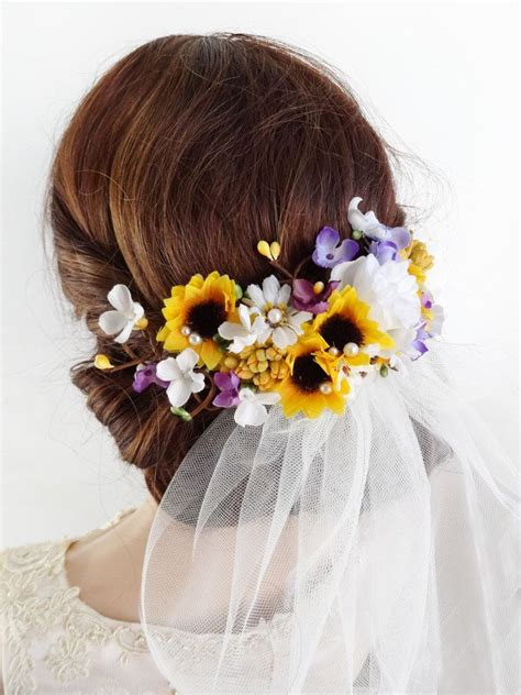 Wedding Hair Pieces Bridesmaids by Best 25 Flower Hair Pieces Ideas On
