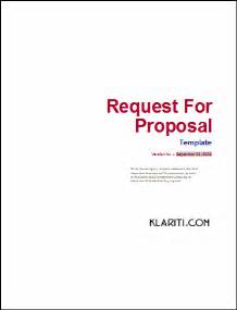 rfp presentation template defining objectives in your website rfp writing