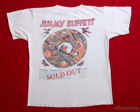 jimmy buffett vintage t shirt 90 s tour concert 1994
