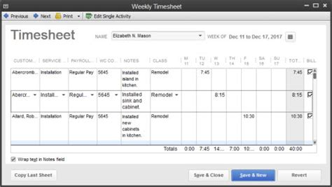 quickbooks timesheet tutorial quickbooks offers smart flexible time tracking