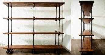 industrial look shelving vintage industrial shelves and shelving infobarrel