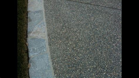 build  exposed aggregate patio youtube