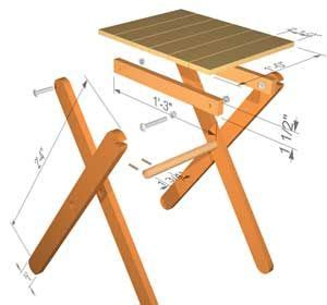 small sturdy folding table folding table plans forget buying that table we keep