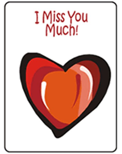 free printable greeting cards i miss you 4 printable love greeting cards to print and download