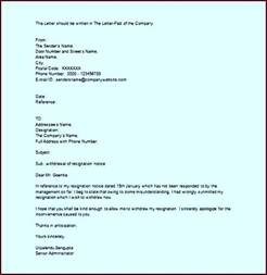 Resignation Letter Withdrawal Letter Format Cancellation Resignation Withdrawal Letter Exle Word Template Update234