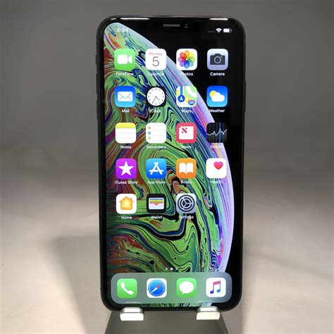 apple iphone xs max 256gb space gray at t mint condition 190198786326 ebay