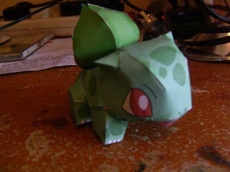 Papercraft Bulbasaur - papercraft bulbasaur beautiful scenery photography