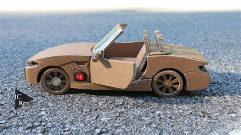 How Do You Make A Car Out Of Paper - how to make rc car bmw z4 amazing cardboard diy