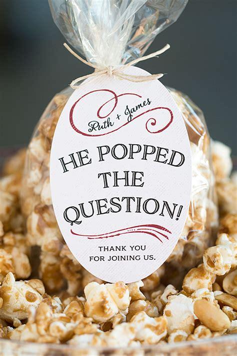Giveaway Question Ideas - wedding favor friday caramel corn weddings ideas from evermine