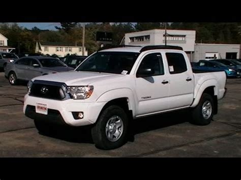 Roof Rack Toyota Tacoma Cab by 2013 Toyota Tacoma Sr5 Crew Cab Review Roof Racks Www