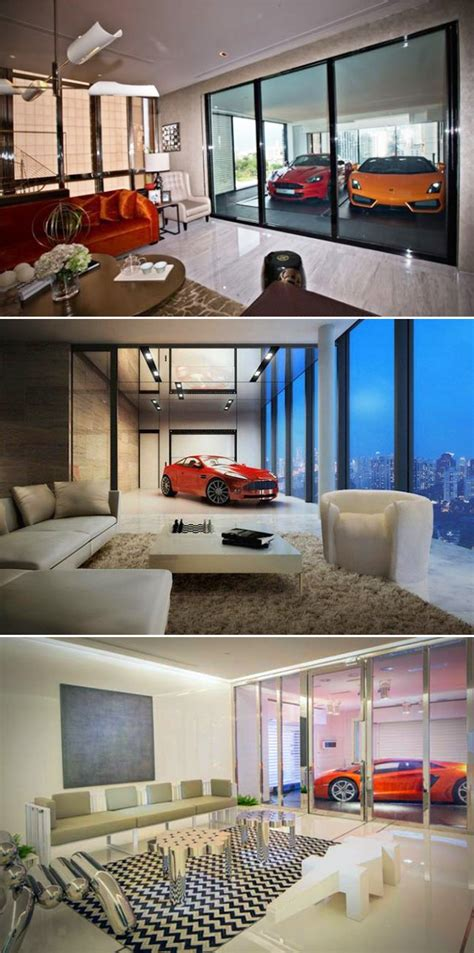 Apartment With Sky Garage En Suite Sky Garage Luxury Apartments Put A Supercar