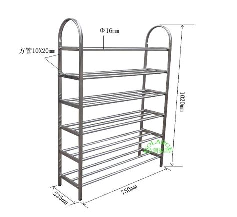 Shoe Rack Stainless Steel by Stainless Steel Shoe Rack H6030 75 Bolarge China