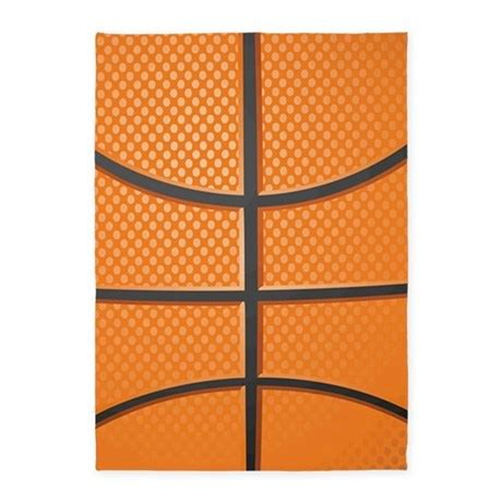 Basketball Area Rug Basketball 5 X7 Area Rug By Admin Cp503785