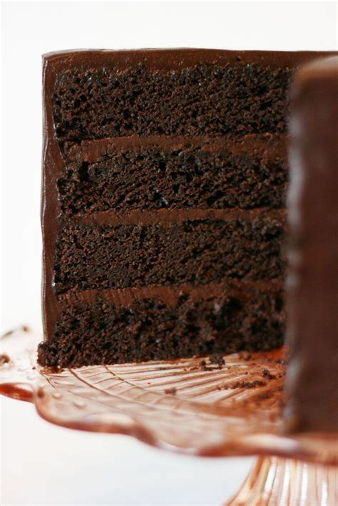 American Chocolate Mud Cake recipe from Cake Paper Party