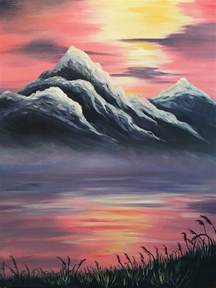 mountain landscape paintings 25 best ideas about mountain paintings on
