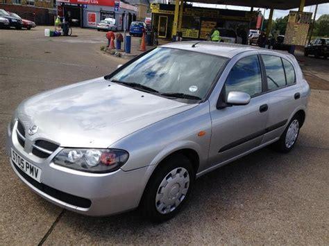 2005 nissan almera used nissan almera car 2005 silver petrol 1 5 s 5 door