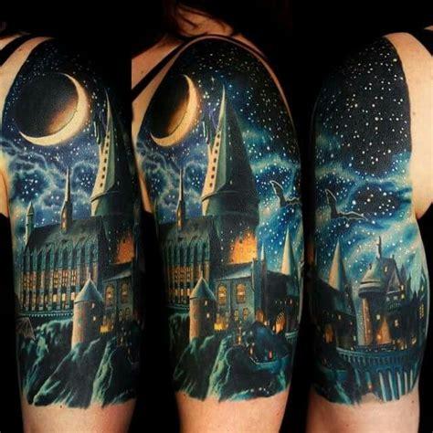 hogwarts castle tattoo 13 best hogwarts castle ideas images on