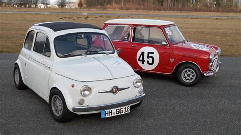 Mini Auto Alt by Fiat Abarth 595 Vs Mini 1275 Cooper S Grip Das