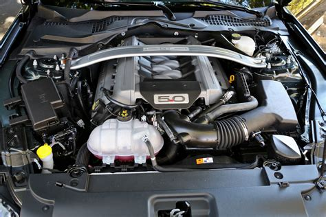 mustang 5 0 engine inside the 2015 mustang s 5 0l coyote and 2 3l ecoboost