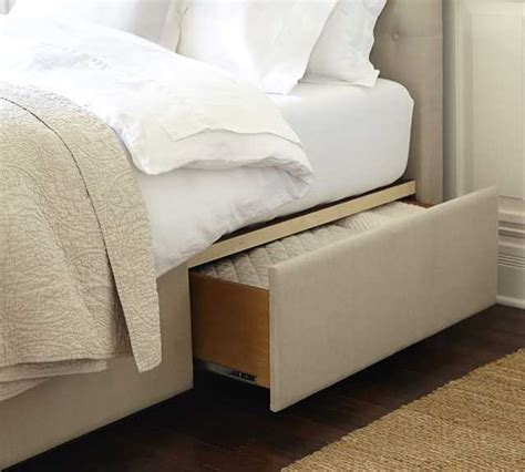 tall upholstered bed the lorraine tufted upholstered tall storage platform bed