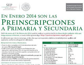 preinscripciones preescolar 2015 en distrito federal inscripciones primaria secundaria preescolar sep df