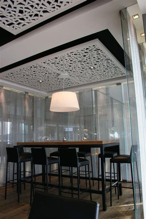 panneau acoustique en mdf pour faux plafond perfore