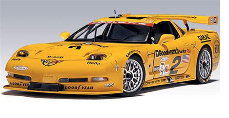 chevrolet corvette    daytona winner autoart