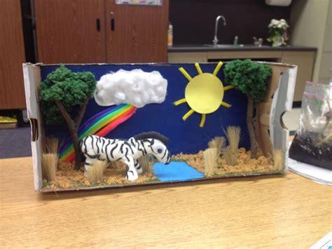 printable giraffe diorama zebra project diorama zebra diorama pinterest