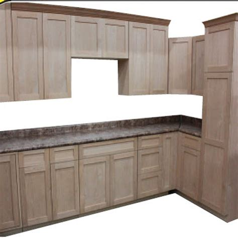 Kitchen Cabinet Unfinished Unfinished Rta Shaker Cabinets Cabinets Matttroy