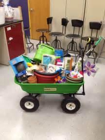 Gardening Gift Basket Ideas School Raffle Basket Garden Theme School Gardens Auction And Garden Theme