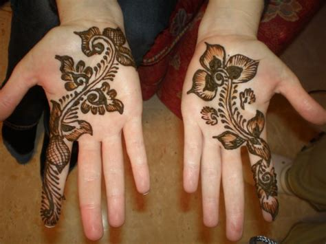 henna art in the palm of your hands adventuressetravels