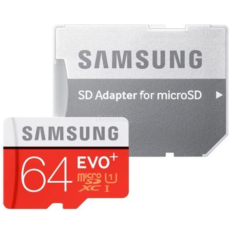 Memory Card Samsung 64gb micro sdxc memory card adapter samsung evo 64 gb mb