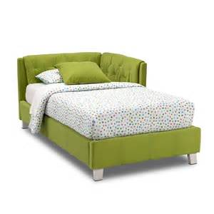 Corner Bed Frame Corner Bed Green American Signature Furniture