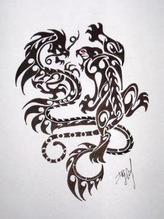 tattoo hidden dragon zadar tigers dragon and tiger design on pinterest