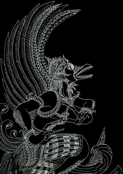 yayan tsuchikages blog ilustrasi desain wallpaper garuda