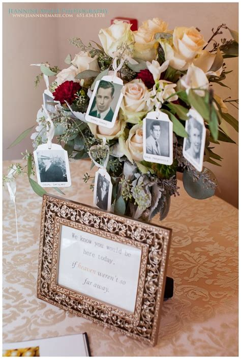 memory table at wedding reception 25 best ideas about memorial at wedding on