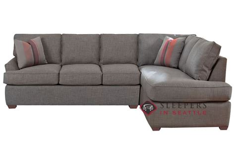 Chaise Sofa Sleeper Customize And Personalize Gold Coast Chaise Sectional Fabric Sofa By Savvy Chaise Sectional