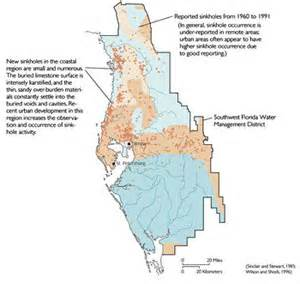 sinkhole frequency map florida learn about sinkholes the mantled karst of west central