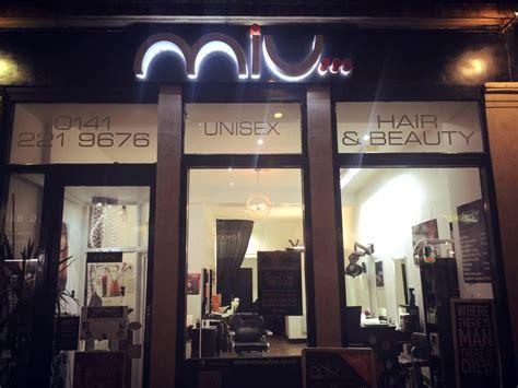 hairdresser glasgow cheap miu salon unisex hair and beauty