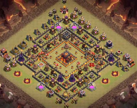 clash of clans th10 war base layout top 20 best th10 war base 2018 new anti valks
