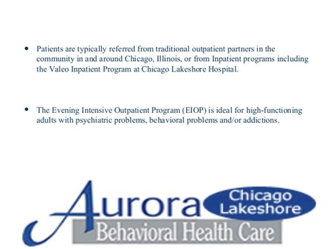 Lakeshore Hospital Chicago Detox by Intensive Outpatient Programs At Chicago Lakeshore