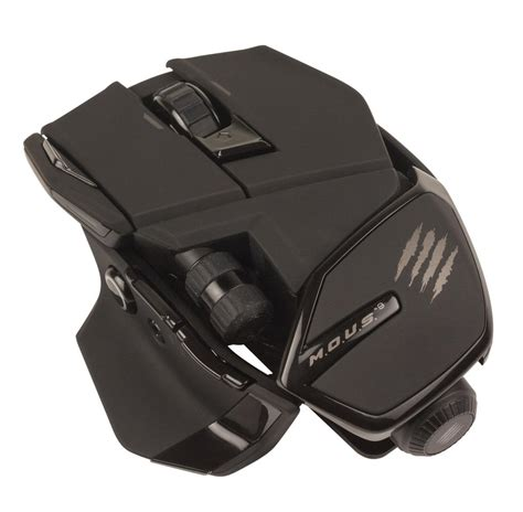 Mad Catz Rat 9 Gaming Mouse mad catz m o u s 9 review rating pcmag