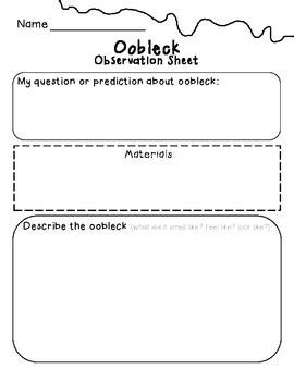 Science Observation Worksheet by Feelings Activities And The O Jays On