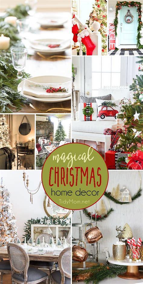 home decor blogs christmas magical christmas home decor to inspire tidymom 174