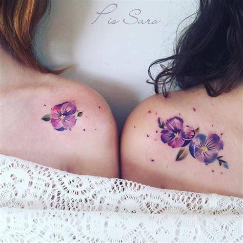 tattoo flower violet 27 beautiful flower tattoo design ideas for women