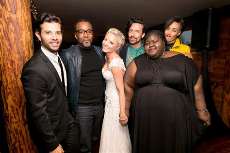 empire tv show stars at wedding image empire cast attends kaitlin doubleday s wedding photos