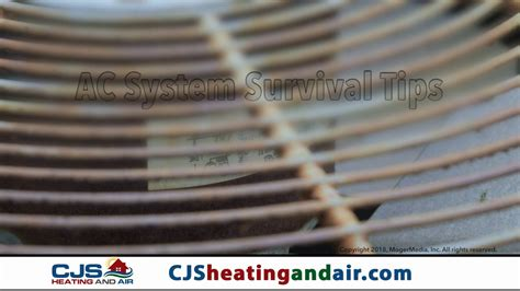 air conditioning tune  cjs heating air springfield